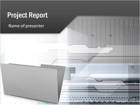 Project Report Title Slide