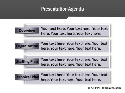 Project Report Presentation Agenda