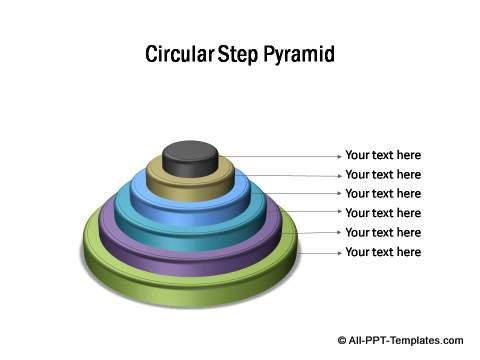 PowerPoint 3D Steps Diagram