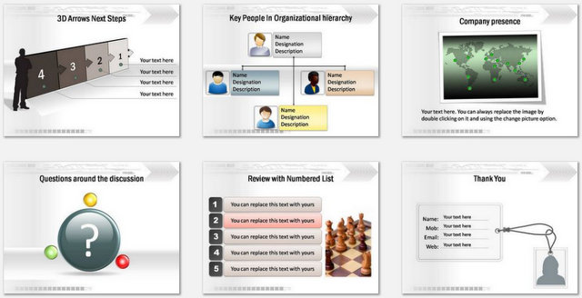 PowerPoint Technical Business Intro Charts 3