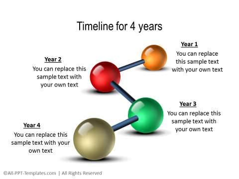 PowerPoint Linear Timeline 01