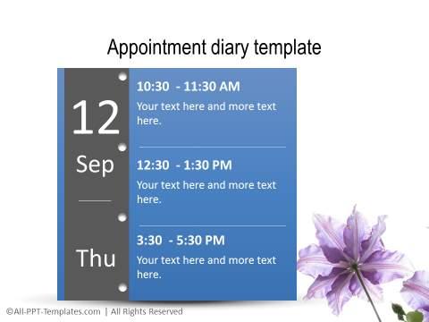 PowerPoint Linear Timeline 25