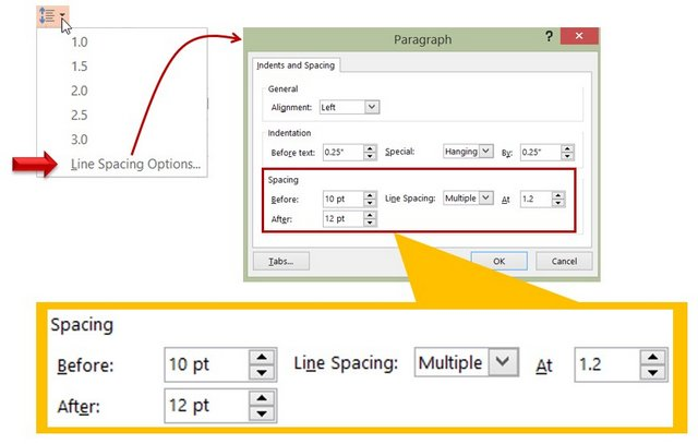 PowerPoint Tool for Line Spacing