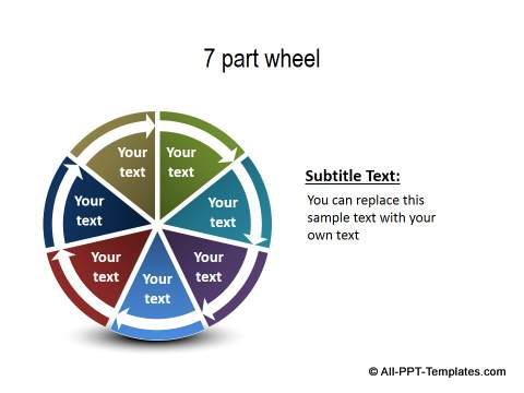 PowerPoint Wheel 14