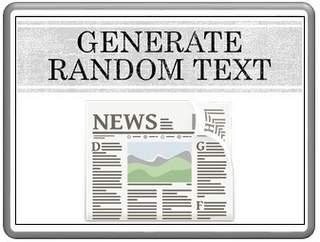 Generate Random Text