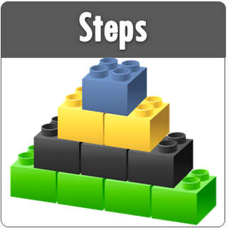 PowerPoint Steps Templates