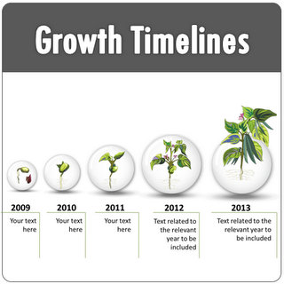 PowerPoint Growth Timelines