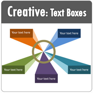 PowerPoint Creative Text Icon