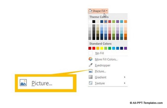 PowerPint Picture Insert Menu