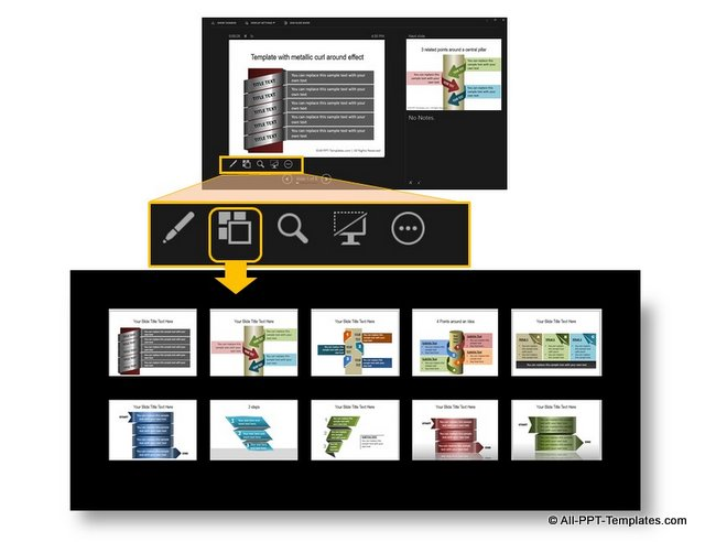See All Slides in Presenter View