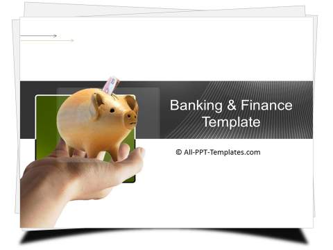PowerPoint Banking Savings Template 1