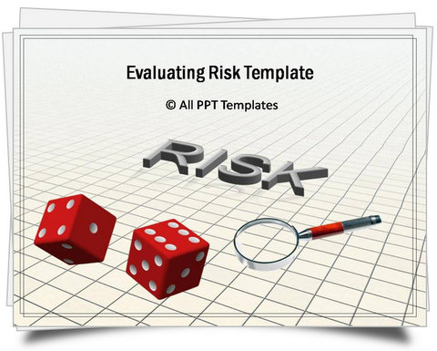 PowerPoint Evaluating Risk Template