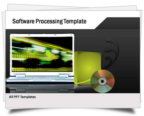PowerPoint Software Processing Template