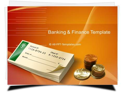 PowerPoint Banking Check Template