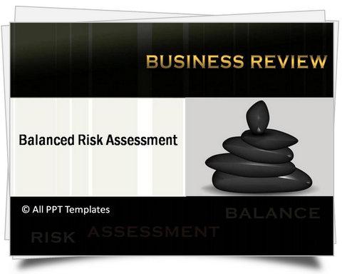 PowerPoint Balanced Risk Assessment Template