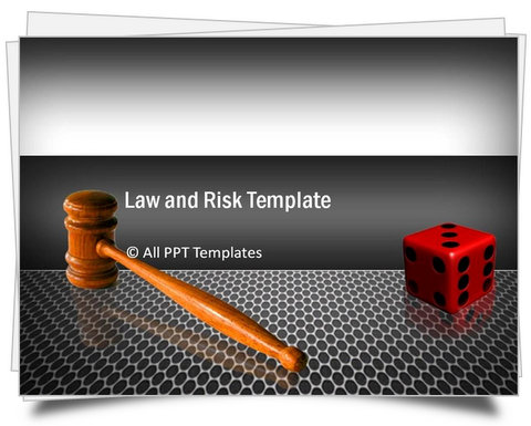PowerPoint Law and Risk Template