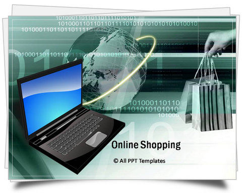 PowerPoint Online Shopping Template