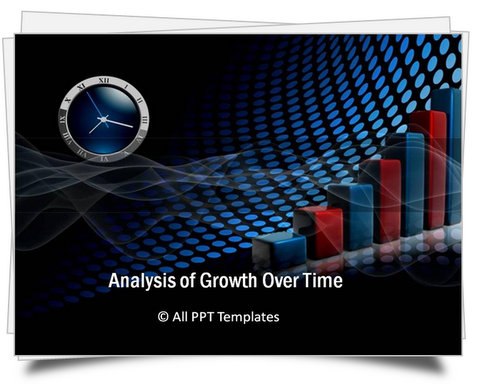 PowerPoint Risk Growth Analysis Template