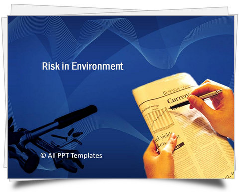 PowerPoint Risk in Environment Template