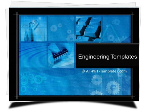 PowerPoint Engineering Computers Template