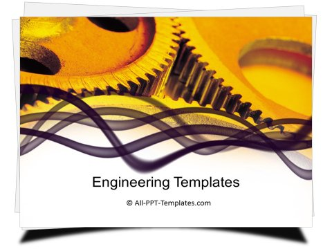 PowerPoint Engineering Gears Template (2)