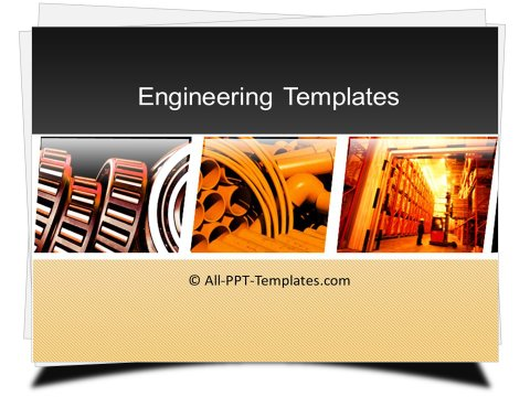 PowerPoint Manufacturing and Storage Template