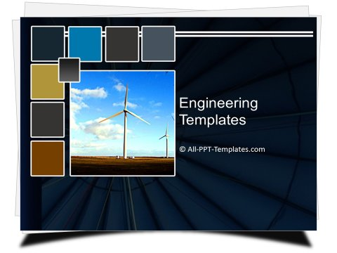 PowerPoint Utilities Windmill Template