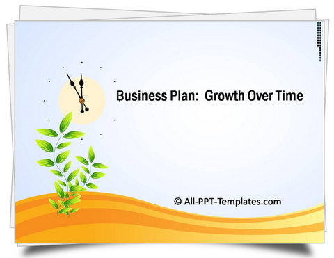 PowerPoint Growth Over Time Template