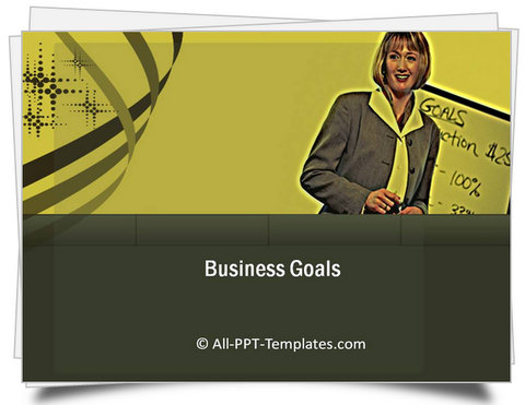 PowerPoint Business Goals Template