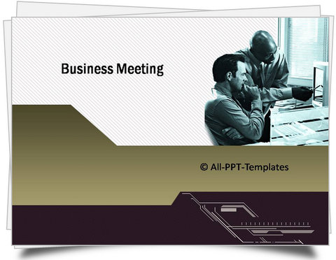 PowerPoint Business Meeting Template