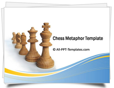 PowerPoint Chess Metaphor Template