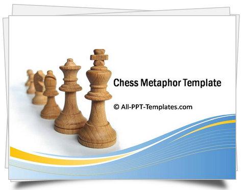 PowerPoint Chess Metaphor Template
