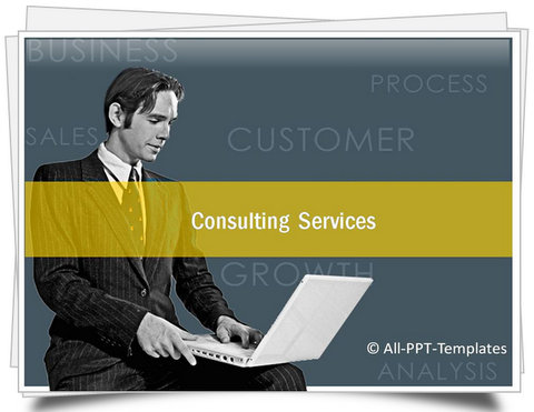 PowerPoint Consulting Services Template