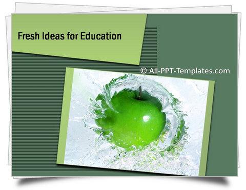 PowerPoint Fresh Ideas Template