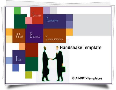 PowerPoint Handshake Template