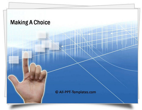 PowerPoint Making Choice Template