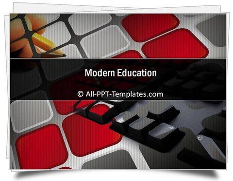 PowerPoint Modern Education Template