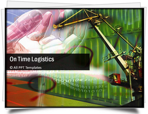 PowerPoint On Time Logistics Template