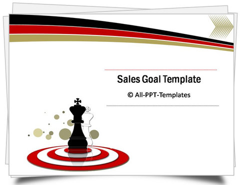 PowerPoint Sales Goals Template