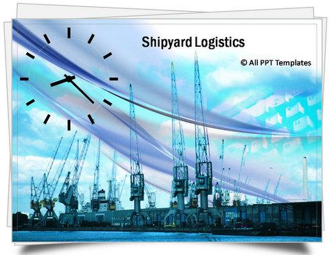 Powerpoint shipyard logistics template toneelgroepblik Gallery