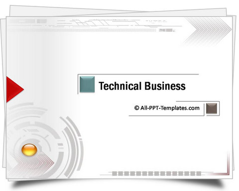 PowerPoint Technical Business Intro Template