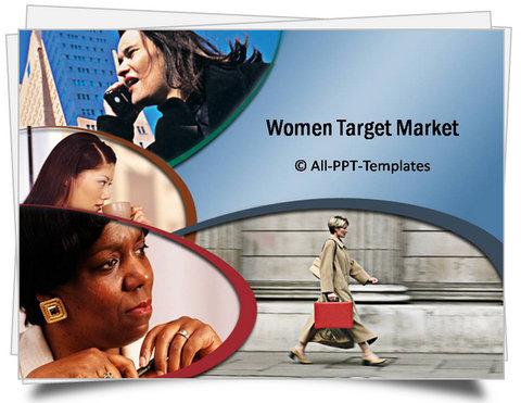 PowerPoint Women Market Template