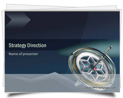 PowerPoint Strategy Direction Template