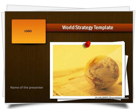 PowerPoint World Strategy Template