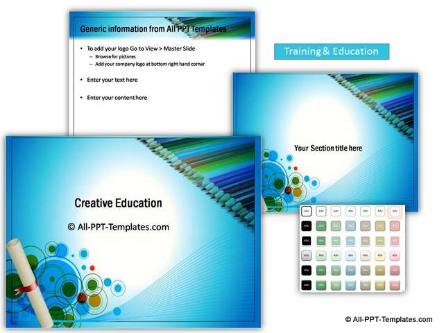 Training and Education Sets
