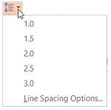 Wrong Line Spacing Tool